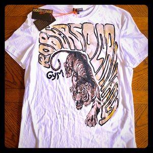 NWTS Roberto Cavalli Tiger T-Shirt